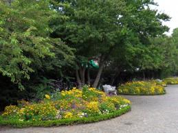 i trädgården -rabatt, gult, Helsingborgs parker itradgarden.se