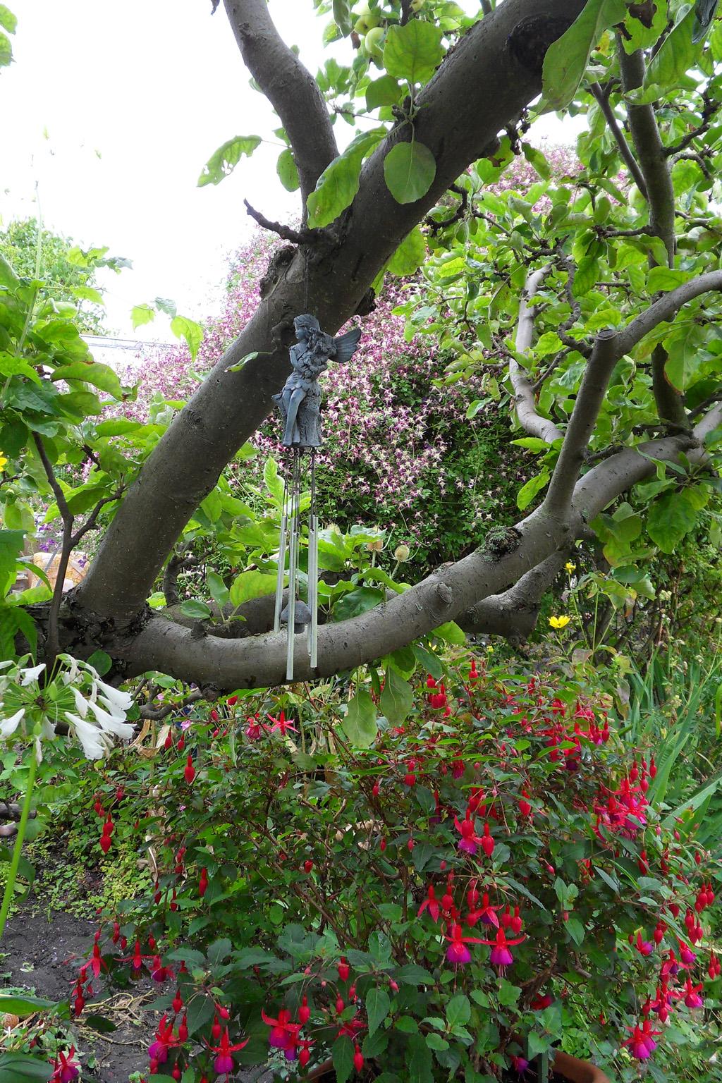 i Trädgården - älva i träd, dekoration, vindspel